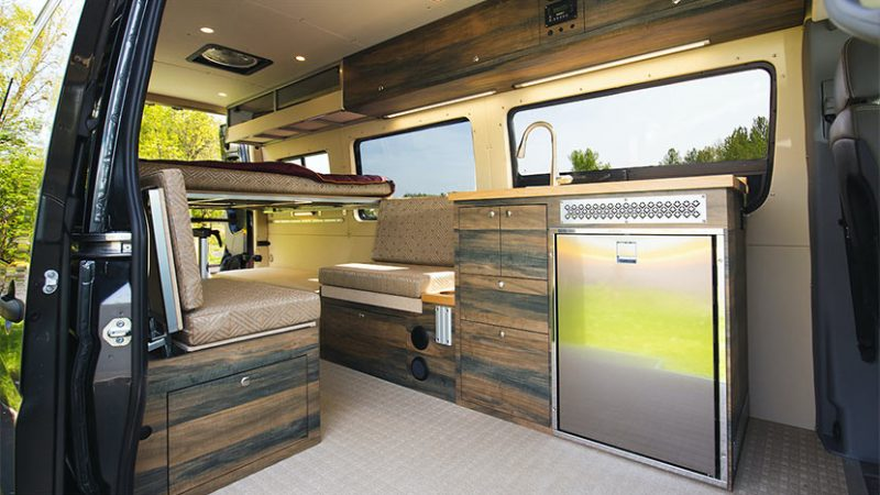 Living in a van- can be better than it sounds