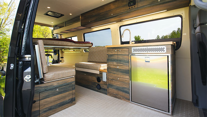 Living In A Van Can Be Better Than It Sounds